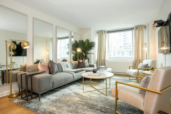 New York Spectacular Apartment Duplex 4 Bedroom 3 Bath Lincoln Center