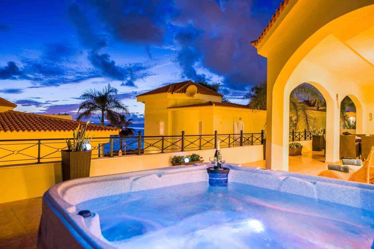 Tenerife Tropical Villa on the sea