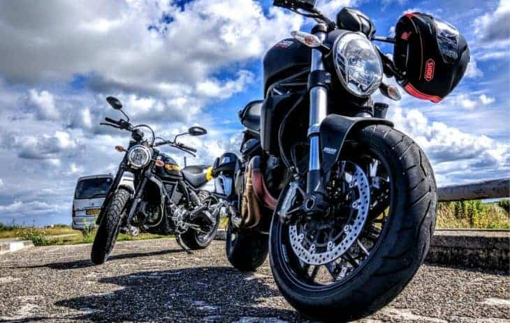 MOTORCYCLES FOR RENTAL STARTING FROM € 4,00 DAY